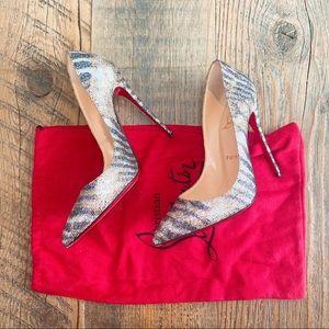 CHRISTIAN LOUBOUTIN Glitter Heels